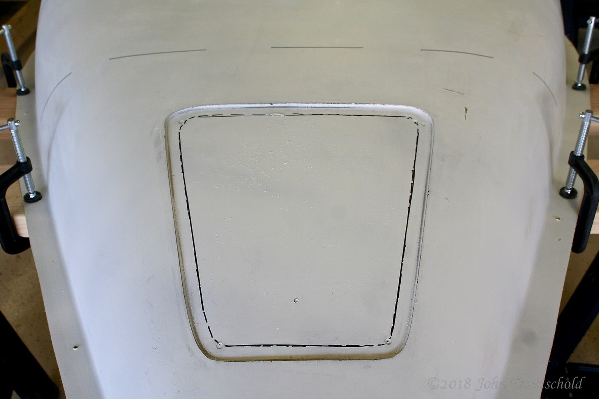 Fuselage - Front Access Cover Pre-Marking