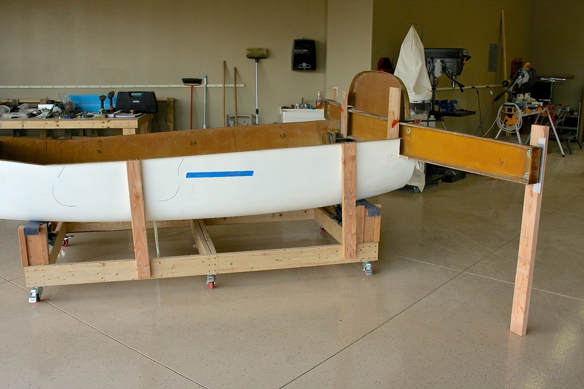 Fuselage - Main Spar Installation Preparations 4