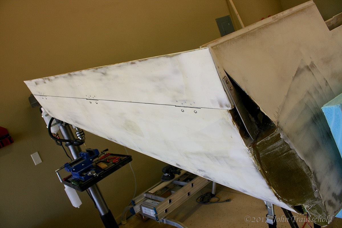 Left Rudder Attached! (1)
